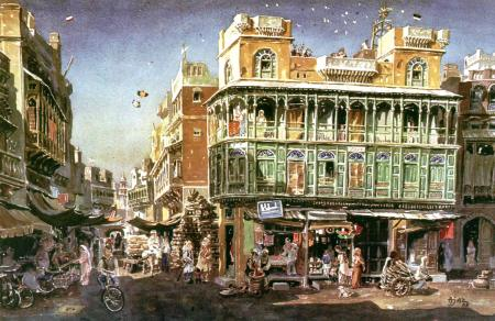 Streets and Mansions of Old Lahore