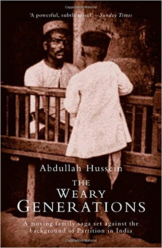 The Weary Generations  book cover